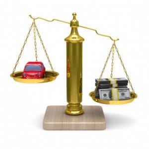 waarde voertuig bepalen